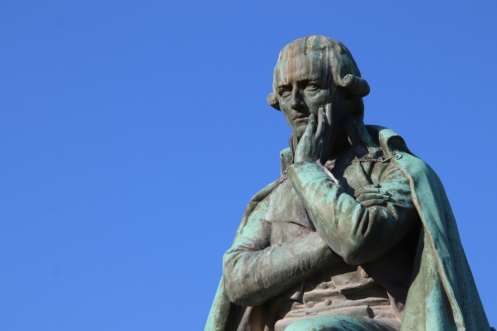 Statue of Jean Baptiste Lamarck